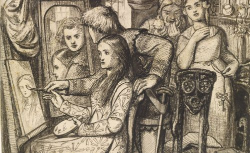 """""""What of her glass without her?"""" Prismatic Desire & Auto-Erotic Anxiety in the Art & Poetry of Dante Gabriel Rossetti"""